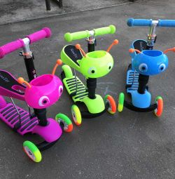 3in1 scooters for children