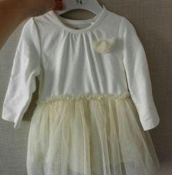 Şık bebek elbise