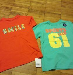 Νέες μπλούζες Mothercare για το αγόρι R 110