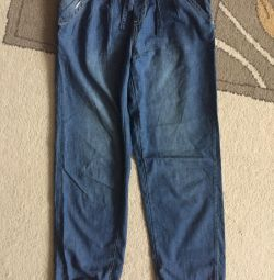 Pantaloni, blugi, jambiere pentru fată