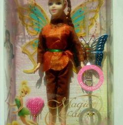 Κούκλα νεράιδα με αξεσουάρ