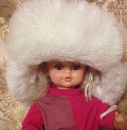 Cap Nyusha. Winter hat