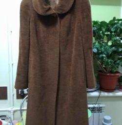Palton de femei din șase surpa alpaca