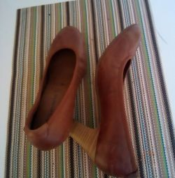 Туфли женские 38, натуральная кожа