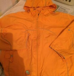 Two windbreakers for girls 6-7 years old in SpringAutumn