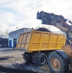 Аренда /услуги трактора экскаватора-погрузчика