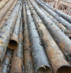 Трубы БУ для сооружения