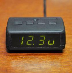 Στροφόμετρο, βολτόμετρο, ρολόι