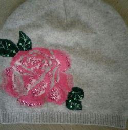 Καπέλο κορίτσι αγγόρα 80%