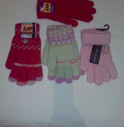 Нові рукавички.