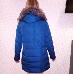 Winter women's down jacket.