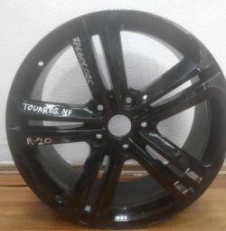 Alloy wheel Volkswagen Touareg Nf R20 (02>) oem 7p6601025ac (low abrasion) (cl-3)
