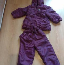 Осенний костюм куртка штаны