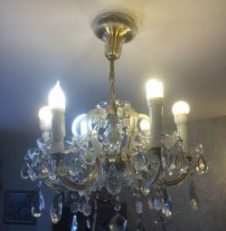 30x 20th century6-chandelier and 2 wall lamps österreich