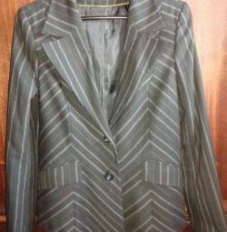 Ceket klasik çizgili s.42