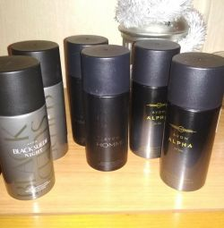 Minunate deodorante pentru bărbați