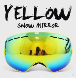 Гірськолижні окуляри / маска для сноуборда Copo ColdBl