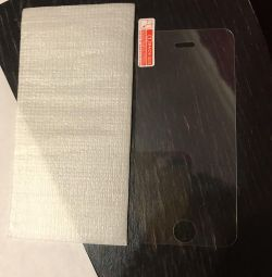 Protective glass on IPhone 5 / 5s / 5SE