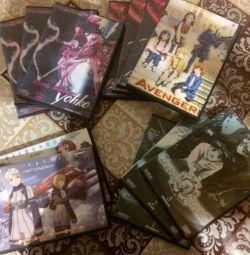 DVD-uri Anime