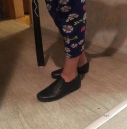 Footwear on the girl skin Unichel