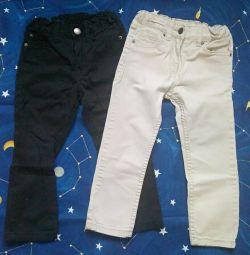Jeans. 98 cm.