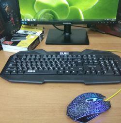 Ігровий комплект клавіатура + миша