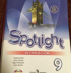 Spotlight pentru carte de lucru engleză timp de 9 cl