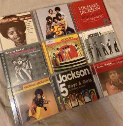 Cd / cd Michael Jackson και Jackson 5