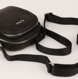 New leather men's bag Tony Perotti. 2 colors