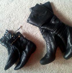 Pantofi din piele originală