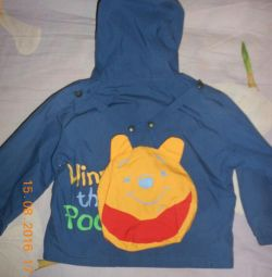 Jacheta elastica pe lînă pentru 1-2-3 ani.