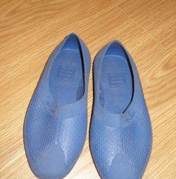 Пляжне взуття / басейн Тапки гумові р.34-35