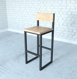 барные стулья и табуреты лофт