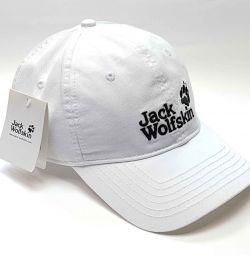 Бейсболка кепка Jack Wolfskin  (белый)