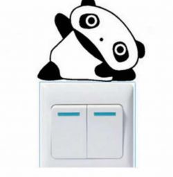 Sticker / sticker panda