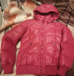 Куртка пуховик женский размер 44