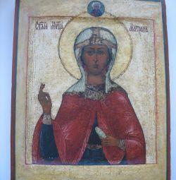 Икона.Св Матрона Солунская .Ковчег