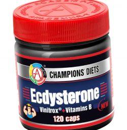 Ecdysterone -збільшує набір м'язової маси