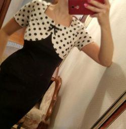 Πλεκτό φόρεμα S
