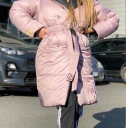 Double-sided different color blanket coat