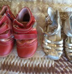 Boots, sandals