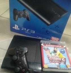 Sony PlayStation 3 500GB full set