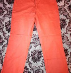 Τζιν για άντρες, πορτοκαλί W38 L34