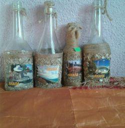 Μπουκάλι διακόσμηση