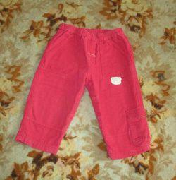 Pants on a girl