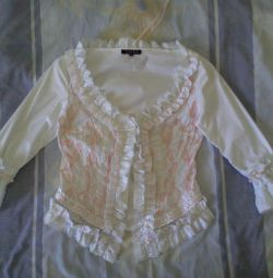 Elegant blouse, size 44-46 (Turkey)