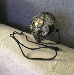 Fan for auto or office.