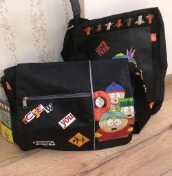 Okul için çanta South Park