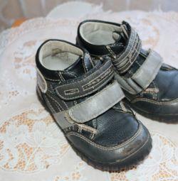 Демисезонные ботиночки, кожаные