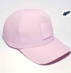 Καπέλο μπέιζμπολ Calvin Klein Jeans (ροζ)